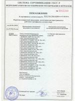 Сертификат соответствия (стр. 2)