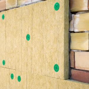 Утепление наружных стен базальтовой ватой