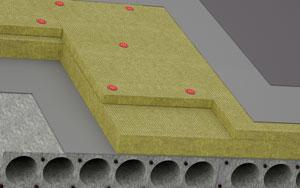 Утепление чердачного перекрытия по бетонной плите
