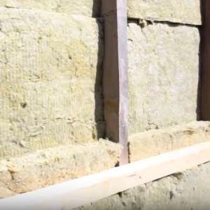 Базальтовый утеплитель в конструкции каркасных стен